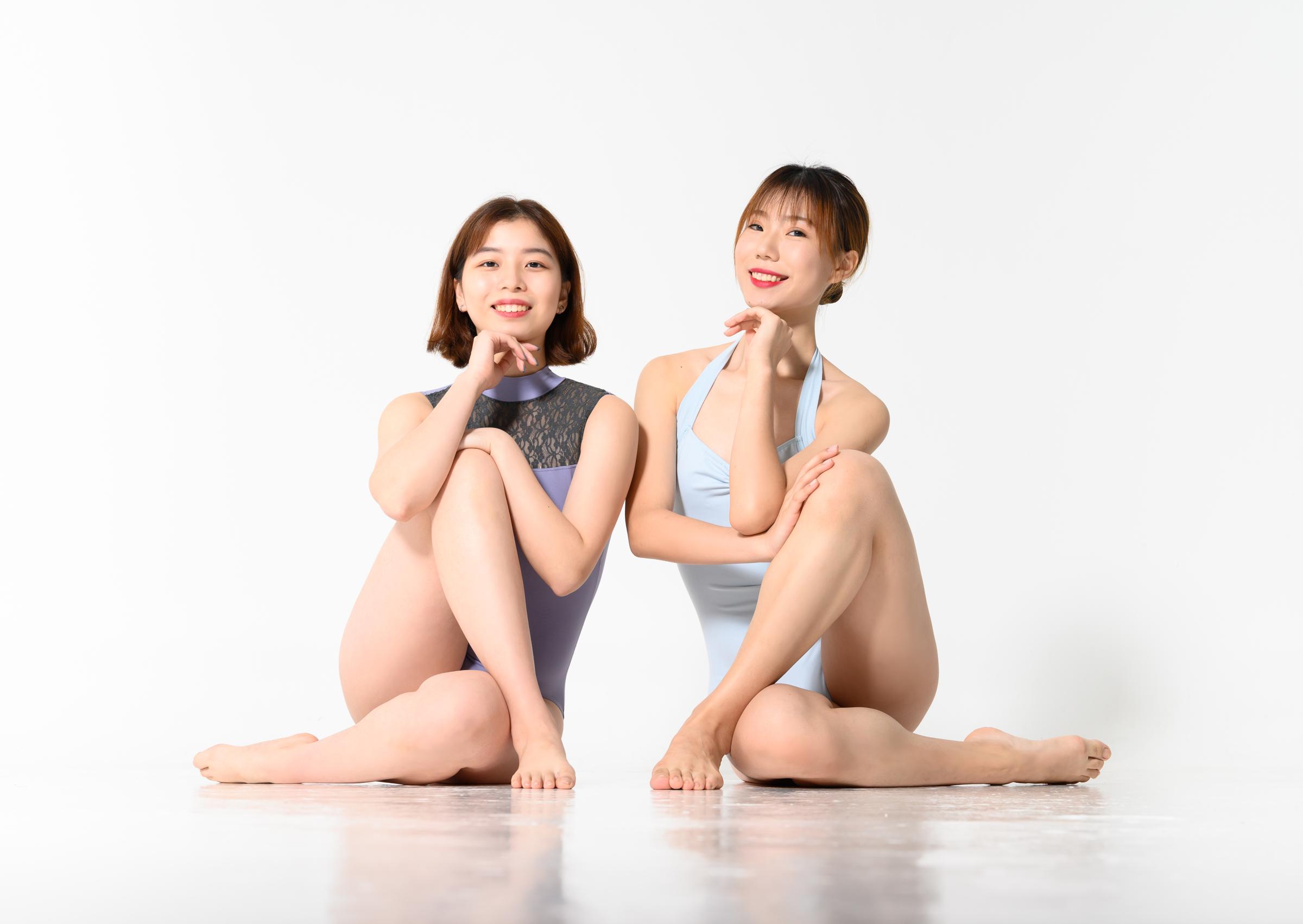 Fei Fei and Xiao Di in the Studio