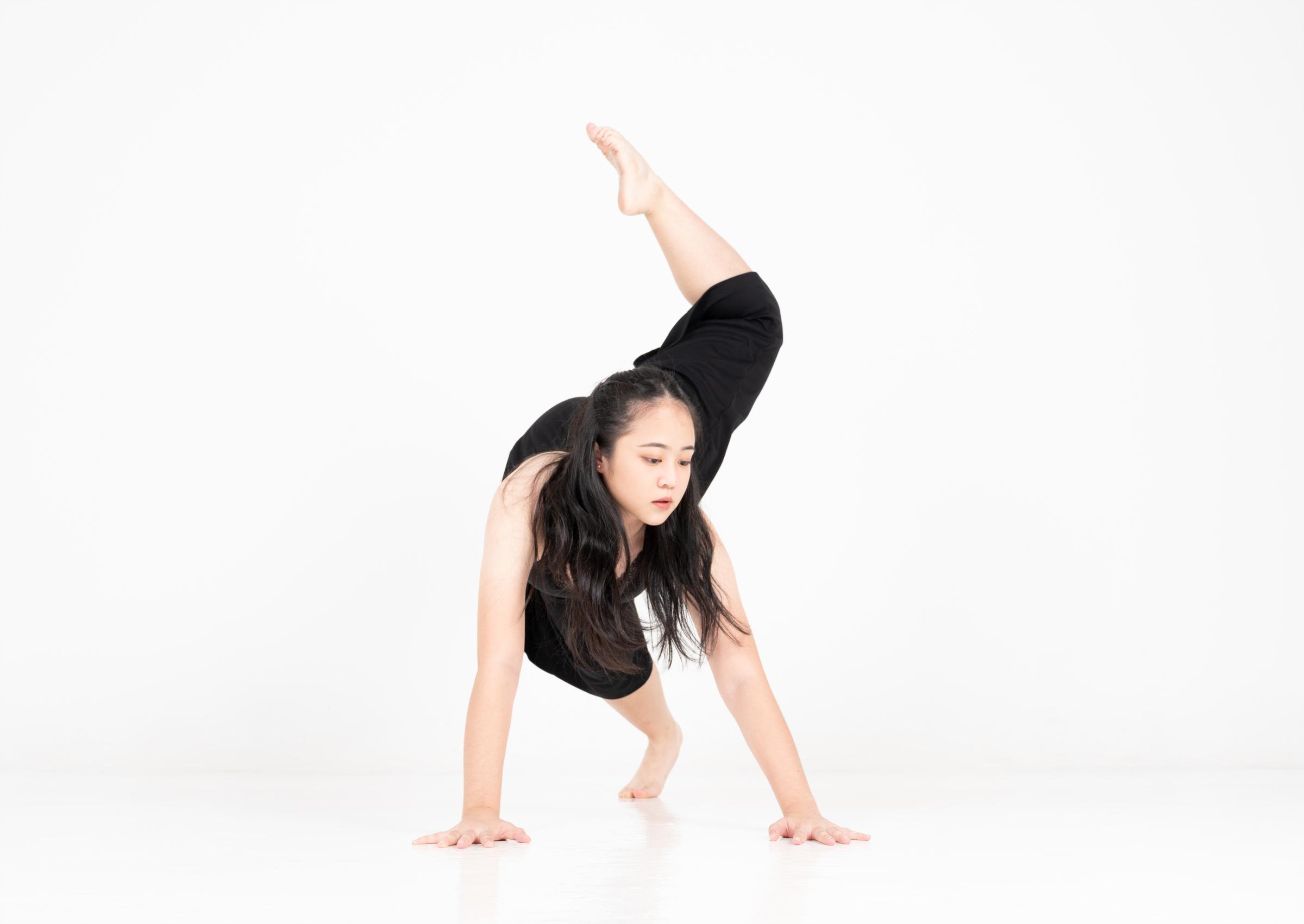 Qiaolin in the Studio