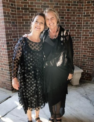 SPAC's CEO, Elizabeth Sobol with Miss Myers