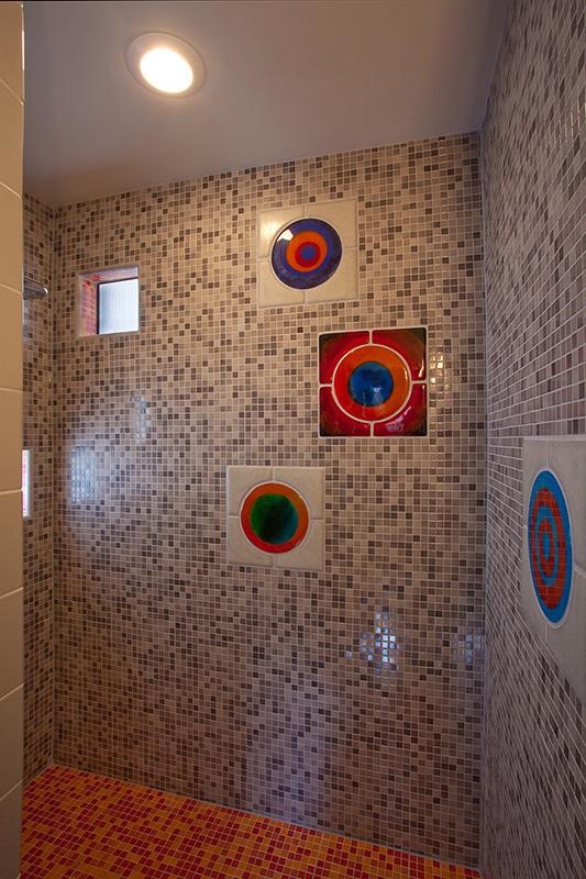 Shower, Devine Street Residence, San Antonio, Texas, 2009.