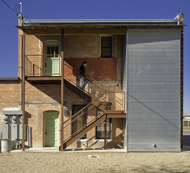 "New stair and closet addition, ""El Picoso"", San Antonio, Texas, 2008. Photo by Chris Cooper Photography"