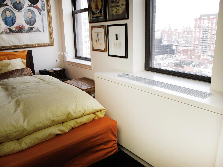 Custom HVAC cover for a bedroom
