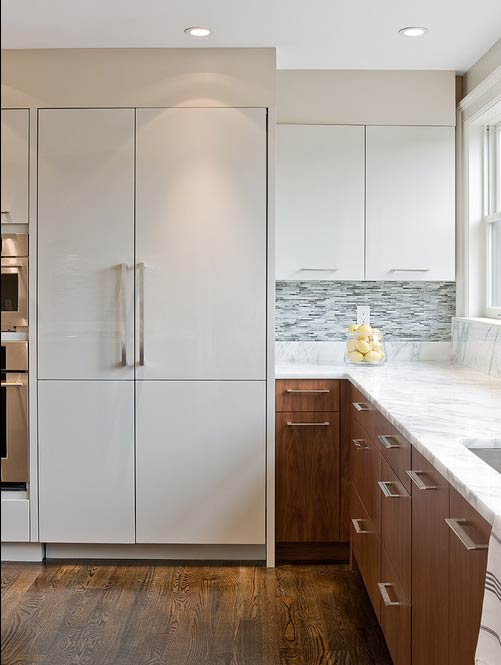 Flat panel cabinets- Photo by Venegas and Company