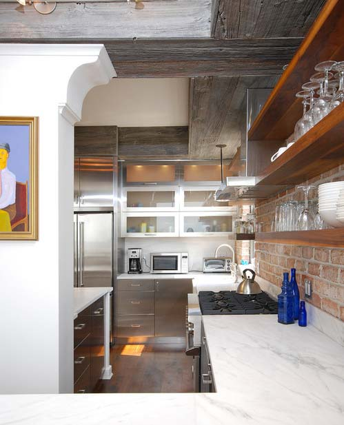 Stainless steel cabinets- Photo by Industrial Kitchen