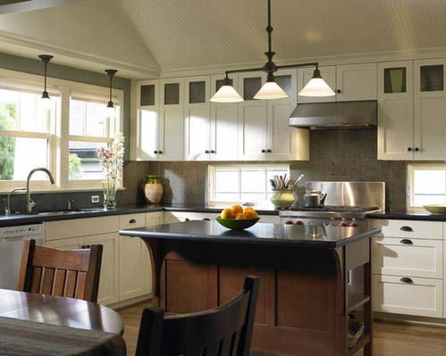 Custom cabinets- Photo by Goforth Gill Architects