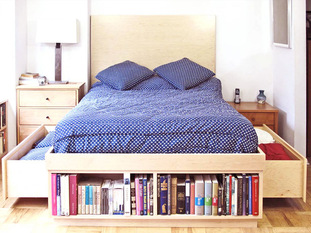 Captain's bed with storage