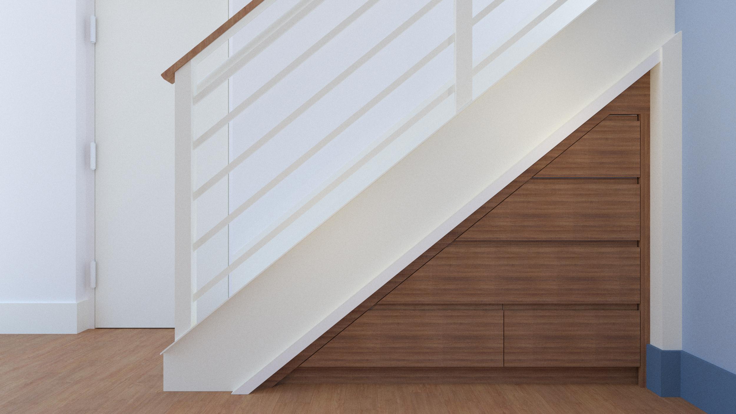 Under-Stair Storage -