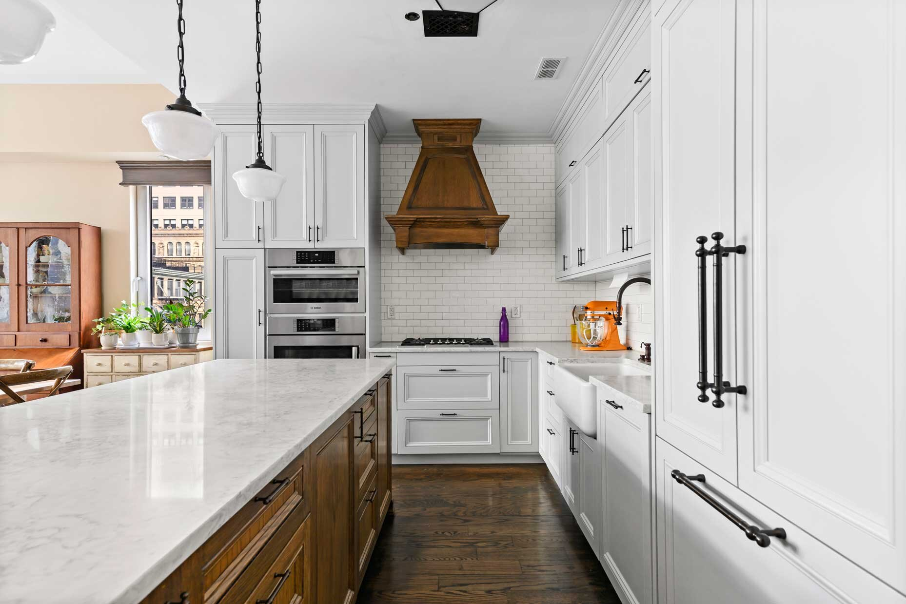 Custom Kitchen Cabinets Nyc Brooklyn Design Renovation Urban Homecraft