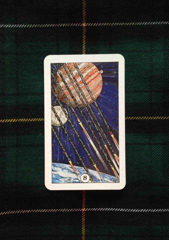 This card is from the Robin Wood deck, published in 2002.