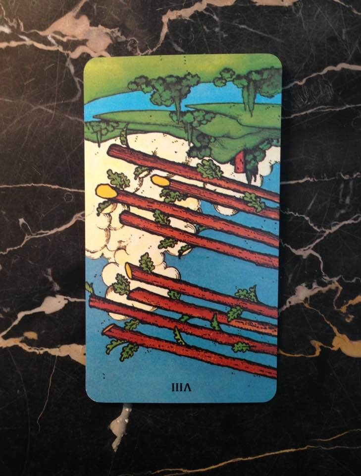 This card is from the Morgan-Greer deck, published in 1979.