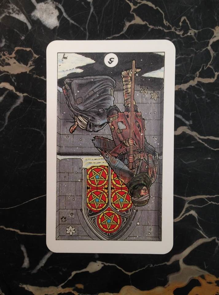 This card is from the Robin Wood deck, published in 1991.