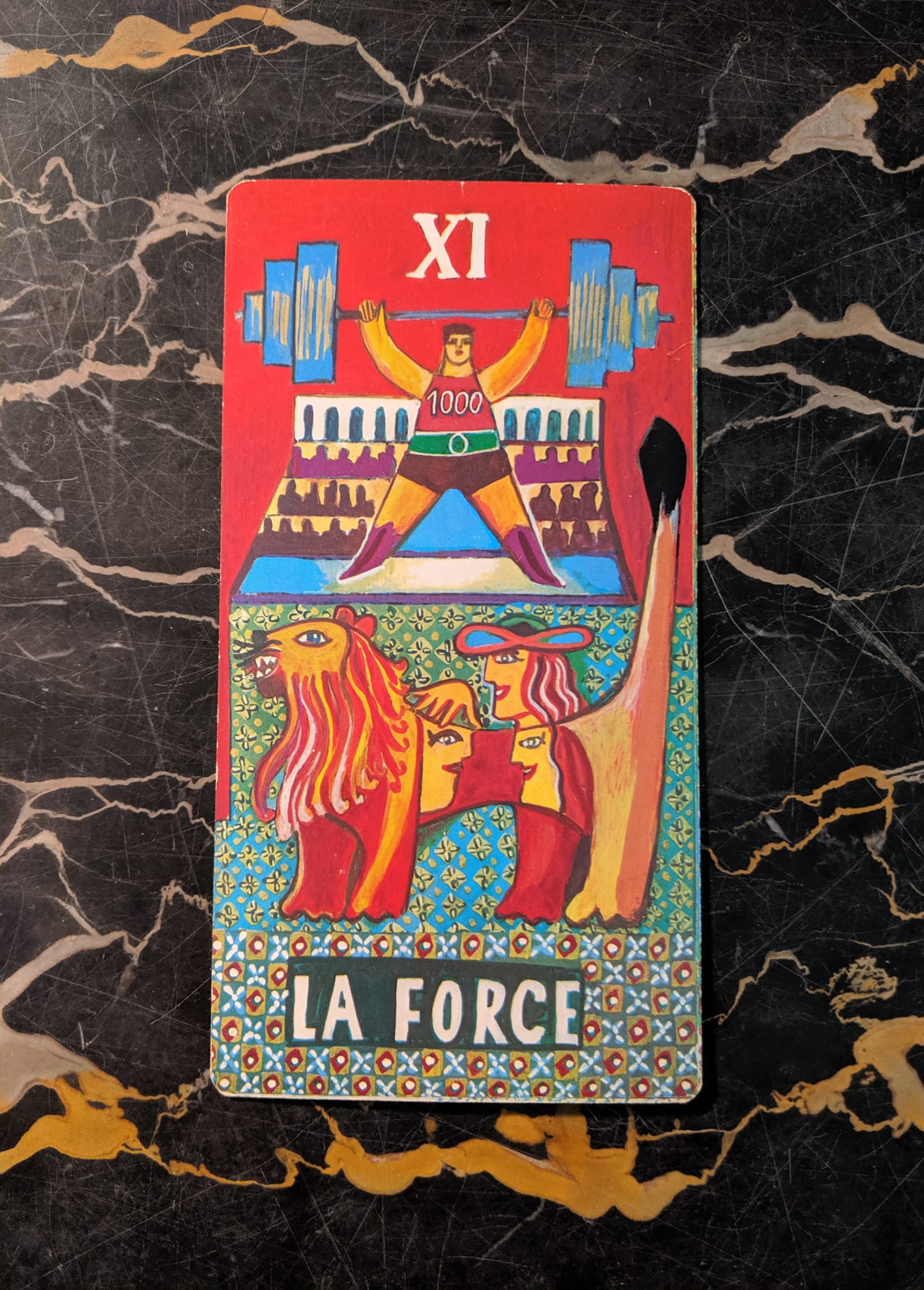 This card is from the Piatnik deck by Rudolph Pointner, published in 1974 in Vienna.