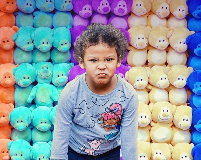 "Hananiyah, showing off her ""mean face"". . . #denverfamilyphotographer #childrenseemagic #wildandbravelittles #beunraveled #broomfieldphotographer #childhoodunplugged #thenarrativesociety #livecolorfully #lookslikefilmkids"
