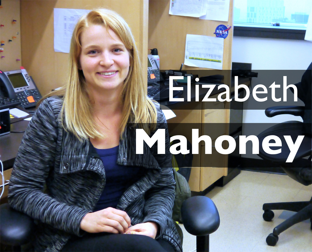 Research Assistant          Elizabeth is from South Florida and attended Florida State University where she received a B.S in biology. In her free time, she enjoys kayaking, biking, and running. She is aspiring to go to graduate school.