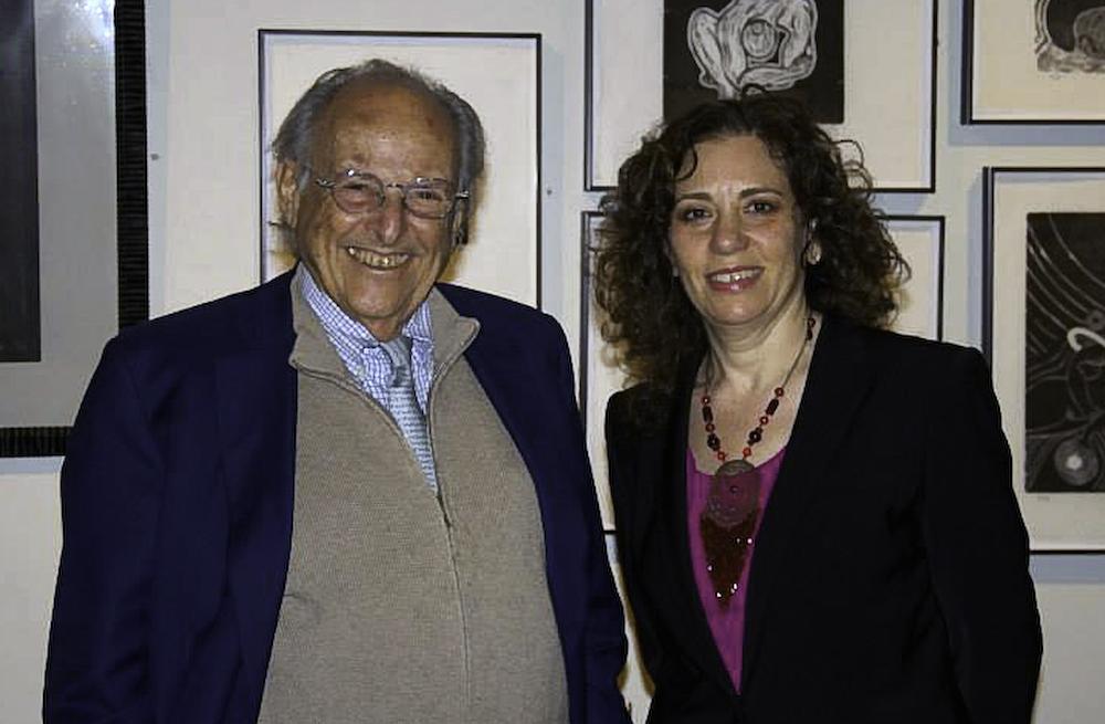 with Dr. Samuel C. Klagsbrun, MD Oct. 2013_Reynolds_Fine_Art.jpg