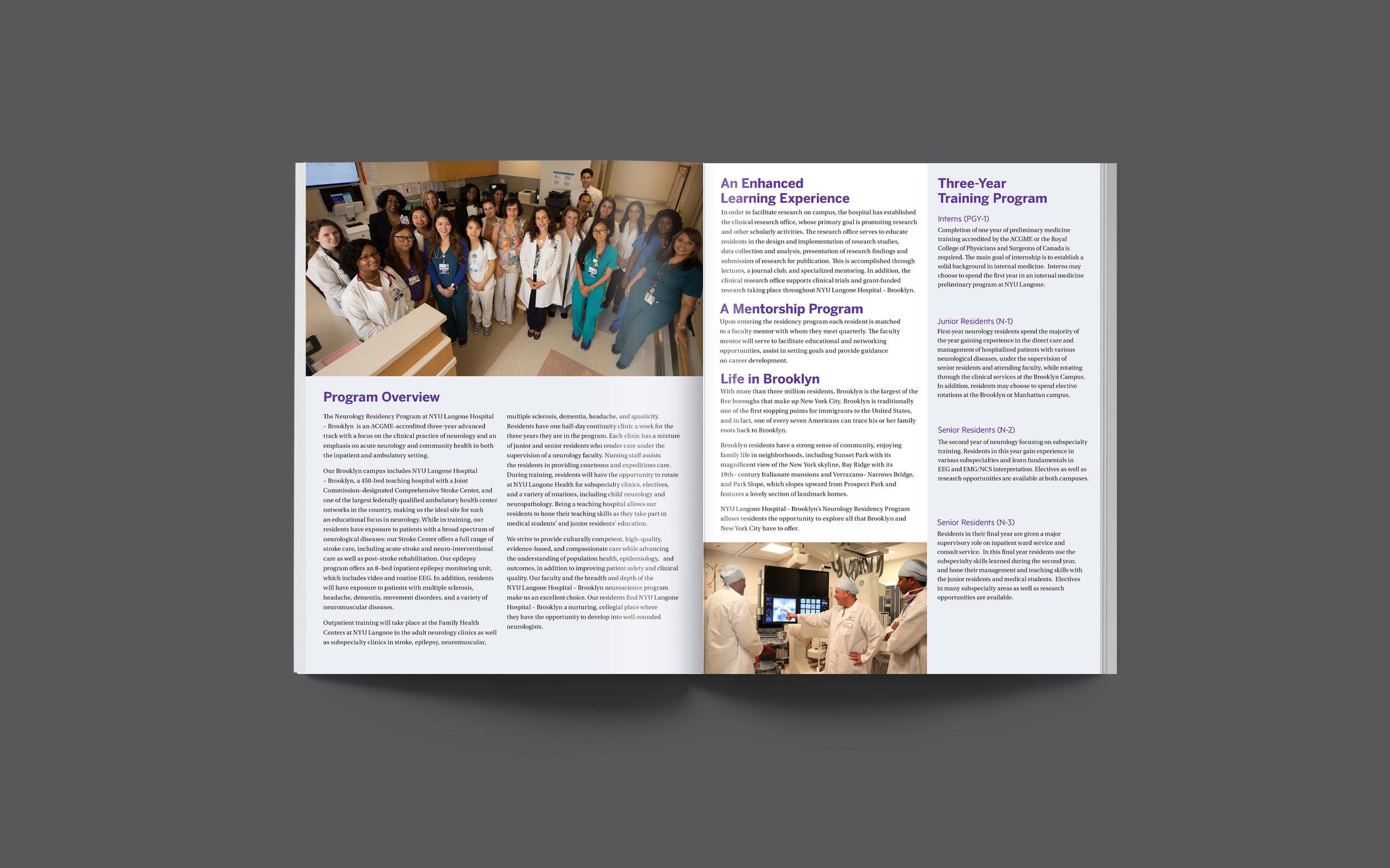 NYU Lutheran Residency Brochures — Kaitlin Sobiesiak