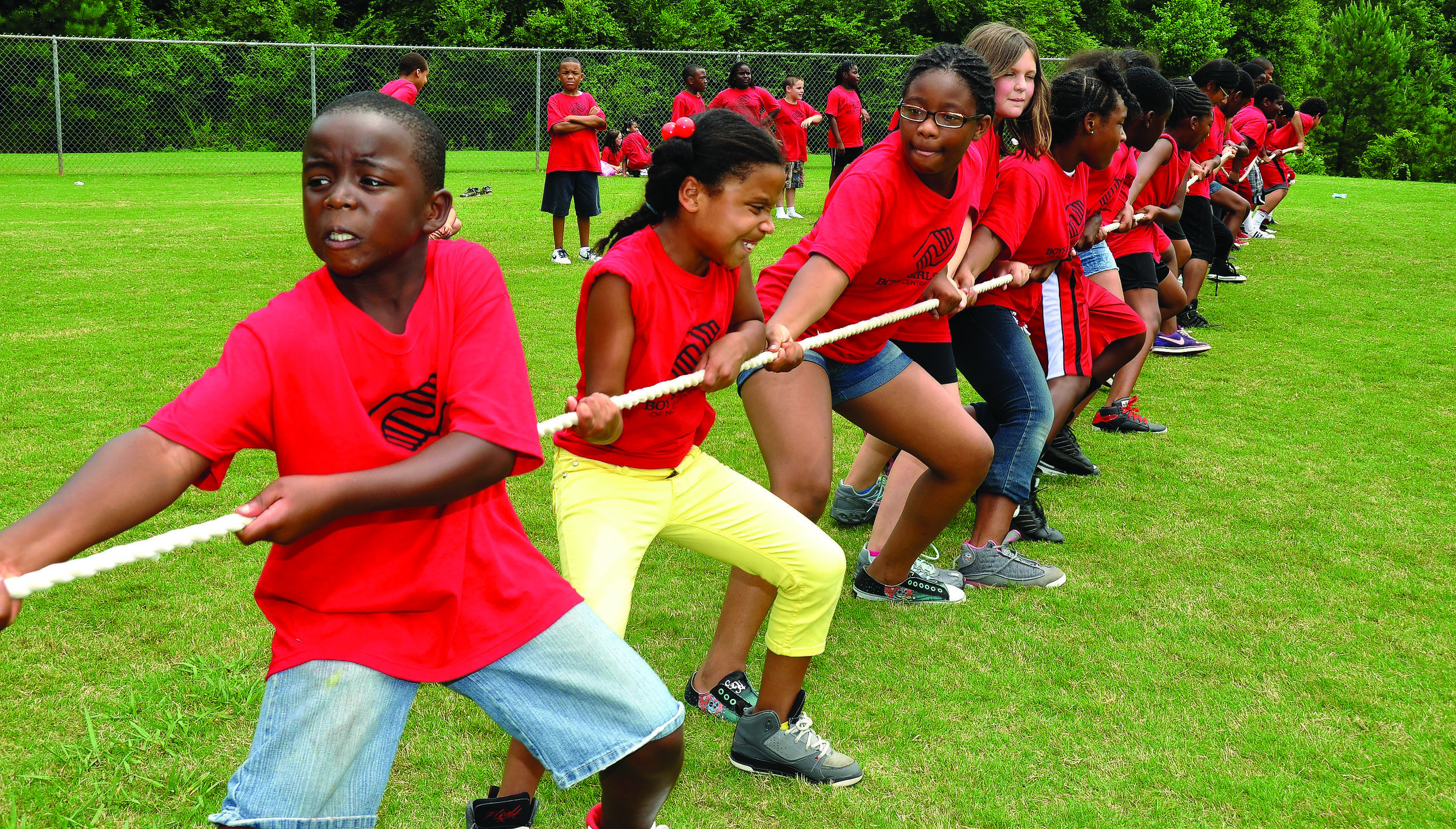 Tug-of-War will be one of the many active play activities during Day For Kids, Sept. 16 from 10 AM - 1 PM.