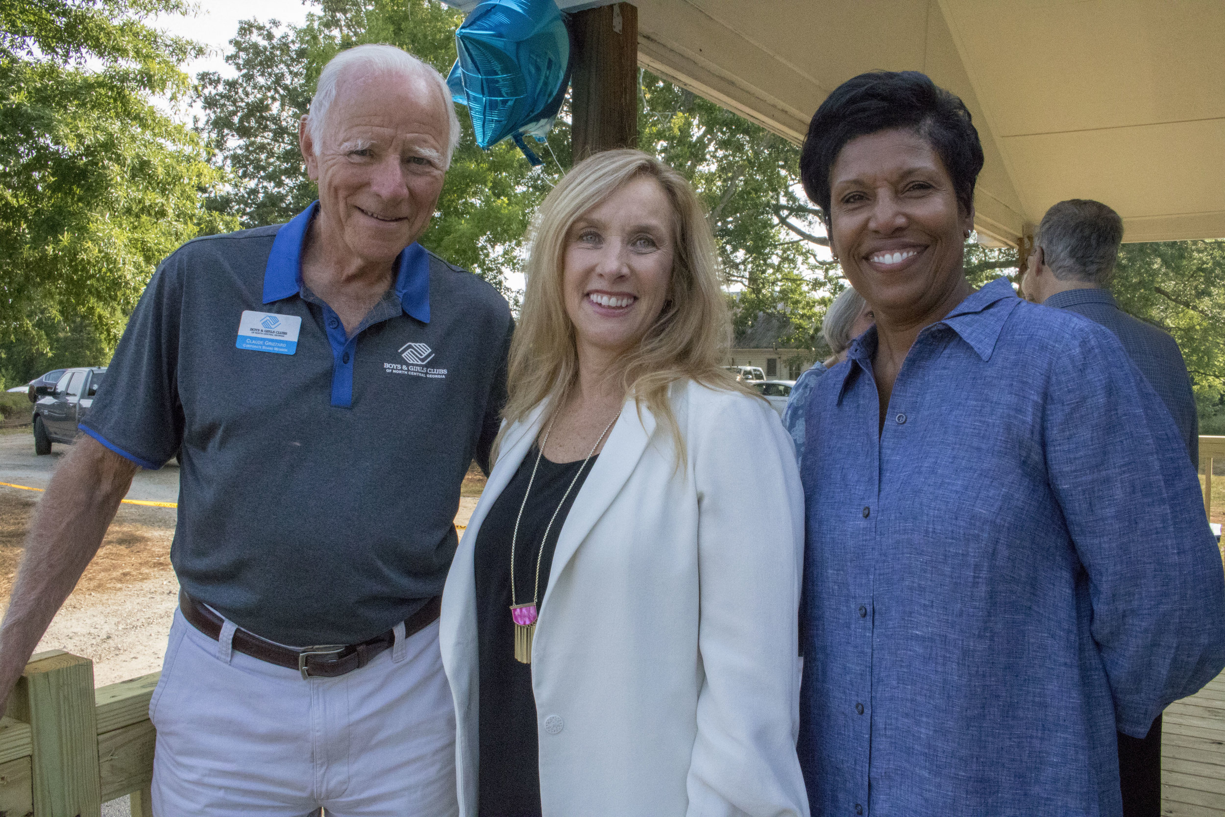 Lisa Hurst, center, Vice President of Organizational Development Southeast Field Operations of Boys & Girls Clubs of America joined us for our celebration!