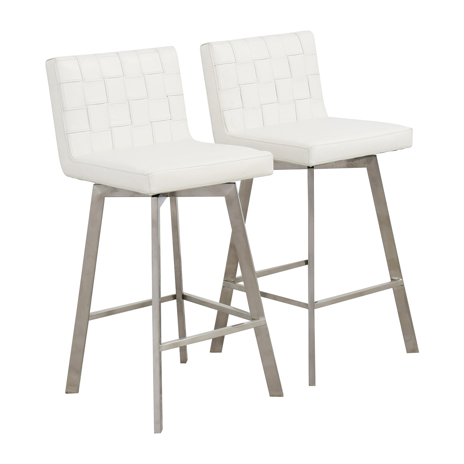 White Bar Chairs ($10)