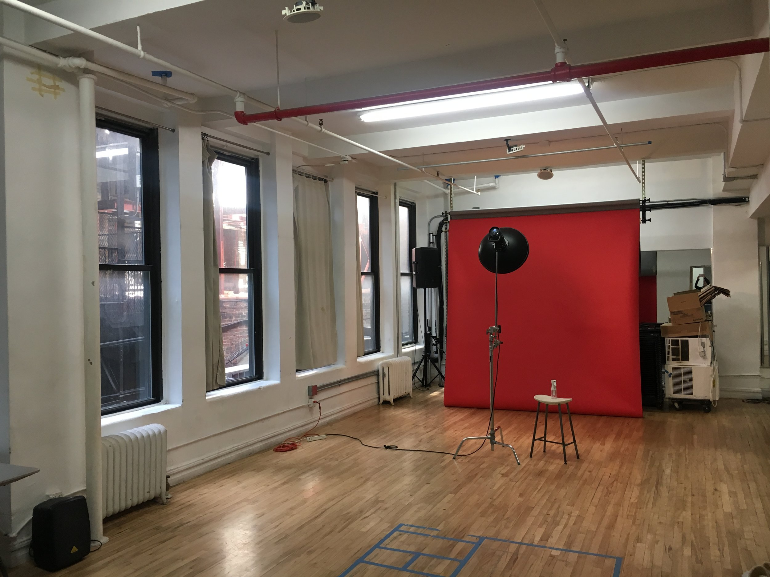 STUDIO 4 - Photo: $50/hr, $375/day.  Video: $60/hr, $450/day