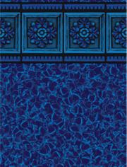 rosetta tile ripple  27 mil wall 27 mil floor