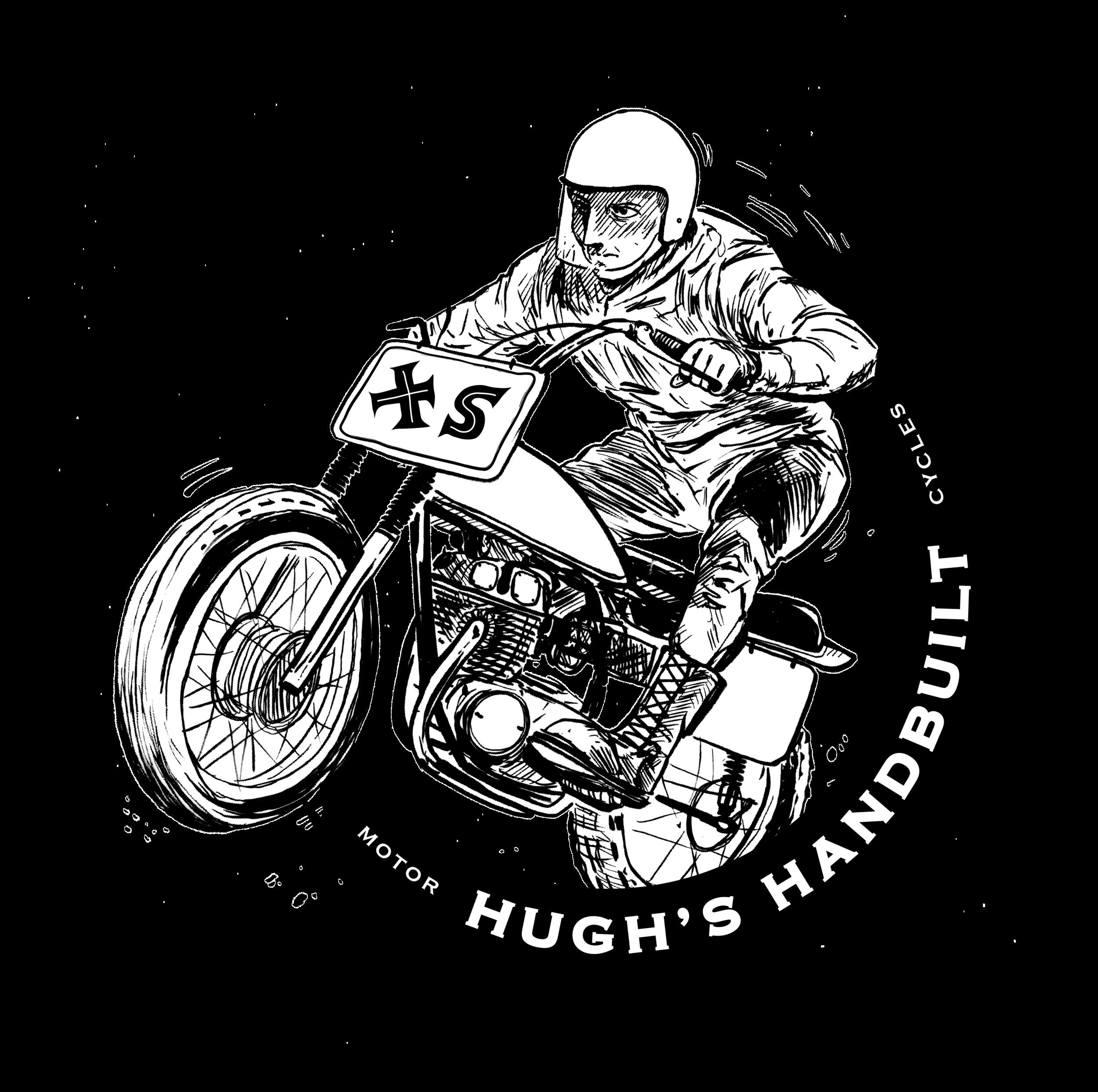 HUgh's Handbuilt SHirt Graphic 02