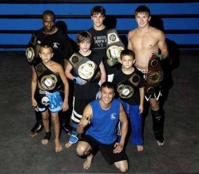 Kickboxing competition