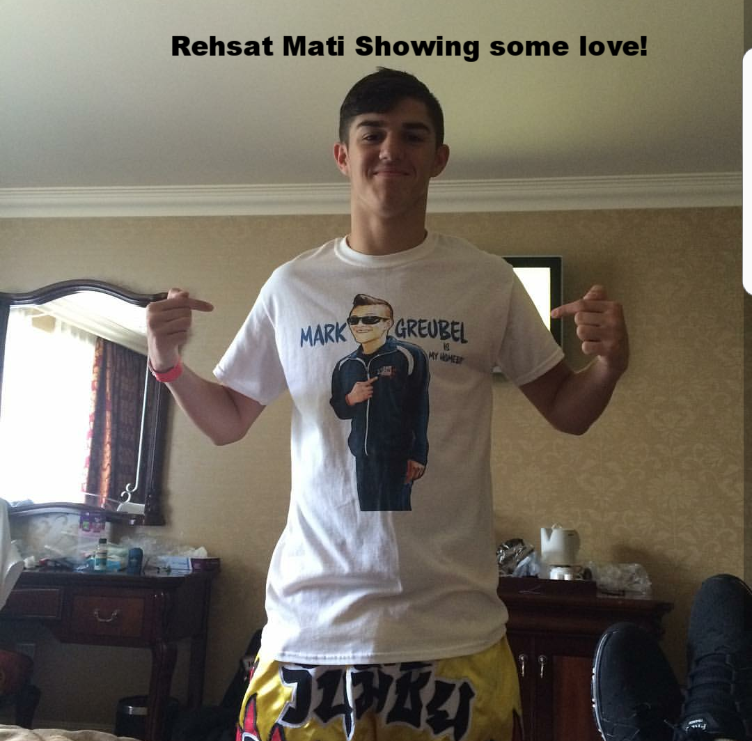 Rehsta Mati Sporting Mark Geubel is my HOMEBOY T-shirt