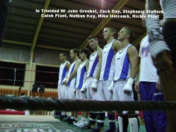 Augusta brings kickboxing to TRINIDAD.