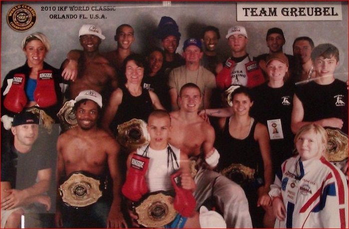 Team Greubel IKF champions and friends