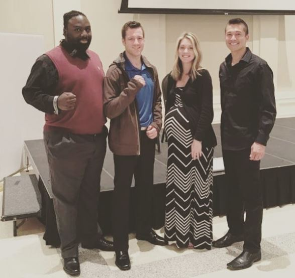 First Baptist -Speech to EMPOWER Augusta's Youth - Recently Mark Greubel and Brandon