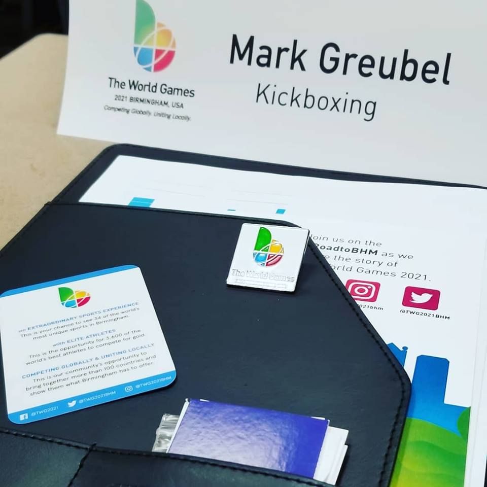 Greubel attends World Games managers meeting - Head coach of Team USA Kickboxing, Mark Greubel, attends the managers meeting in Birmingham, Alabama in preparation of the 2021 World Games!!