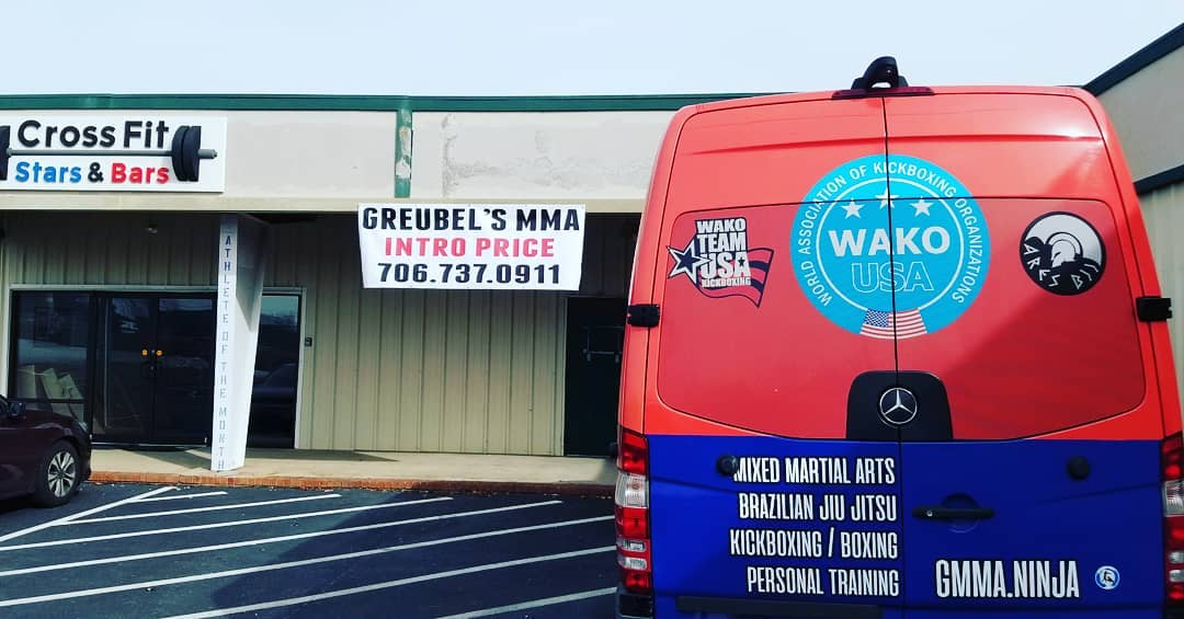 Greubel's MMA is opening a new location in Grovetown, Georgia just outside of Fort gordon's gate 2. @619 East Robinson Avenue Sign up before the new year and get grandfathered in as a dual Greubel's MMA membership at our augusta location as well for FREE!!