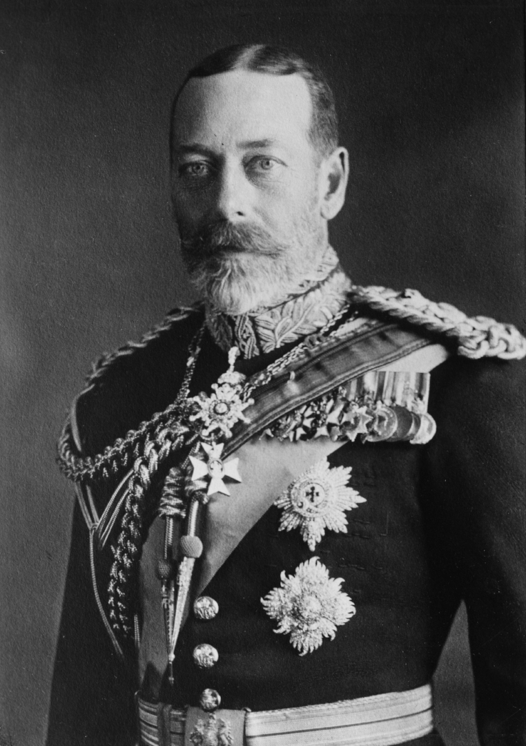 King George V - A classic full beard with a solid flare mustache, King George V showed the early 1900's didn't have to be all clean-shaven.