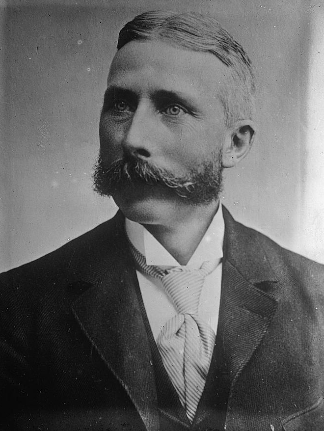 Dr. John T. Gerin - Not particularly famous, but a perfect archetype for a glorious 'stache.