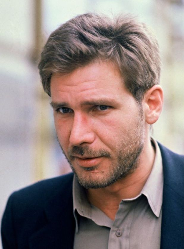 Harrison Ford - The Empire Strikes back just comes out, Harrison Ford is one of the biggest in Hollywood and he straps on a beard.