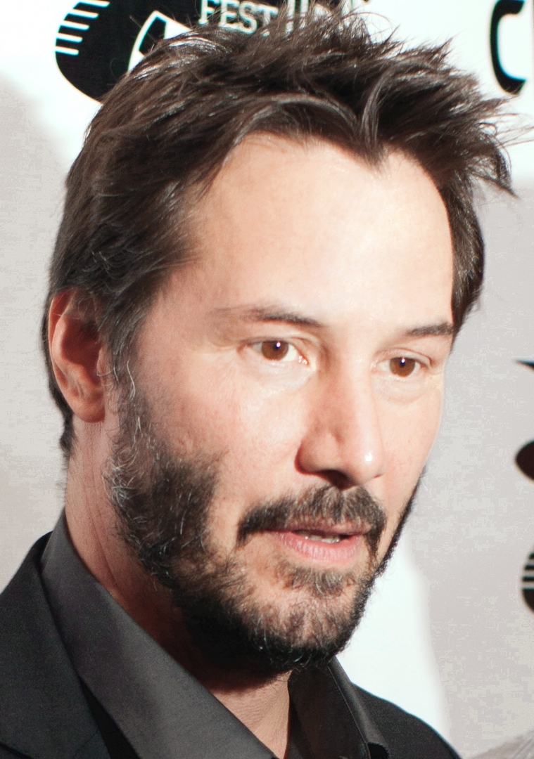 Keanu Reeves - Technically this photo is from 2014, but since Keanu Reeves doesn't age, I'm allowed to use any photo of him.