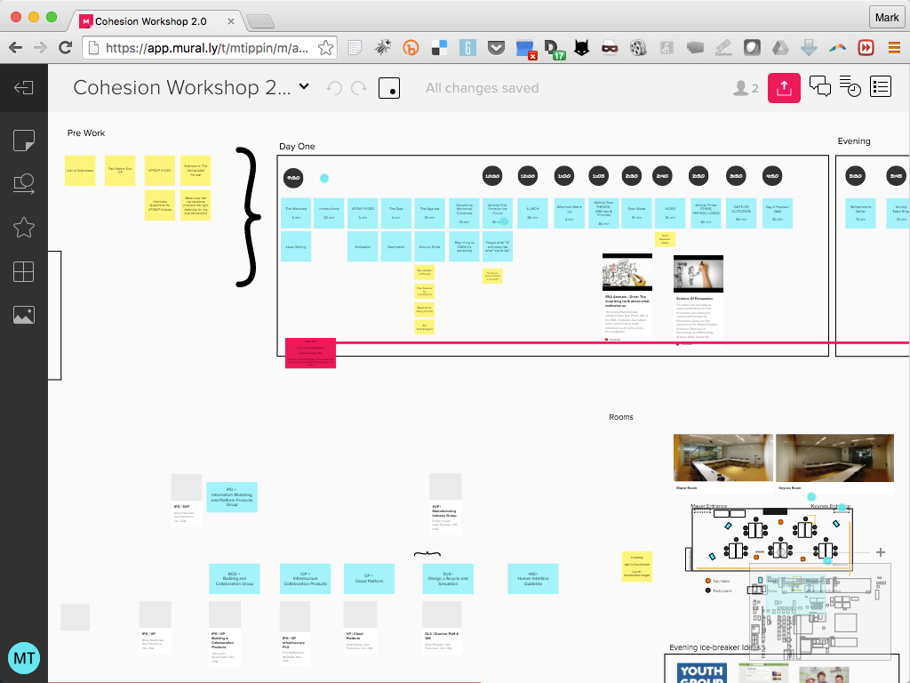 Workshop Planning with  Mural.ly