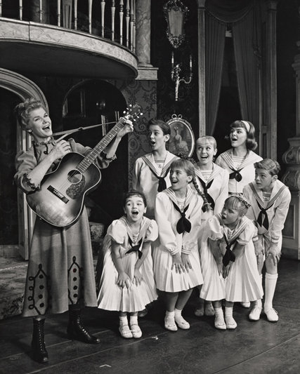 Martha Wright in The Sound of Music in 1961.
