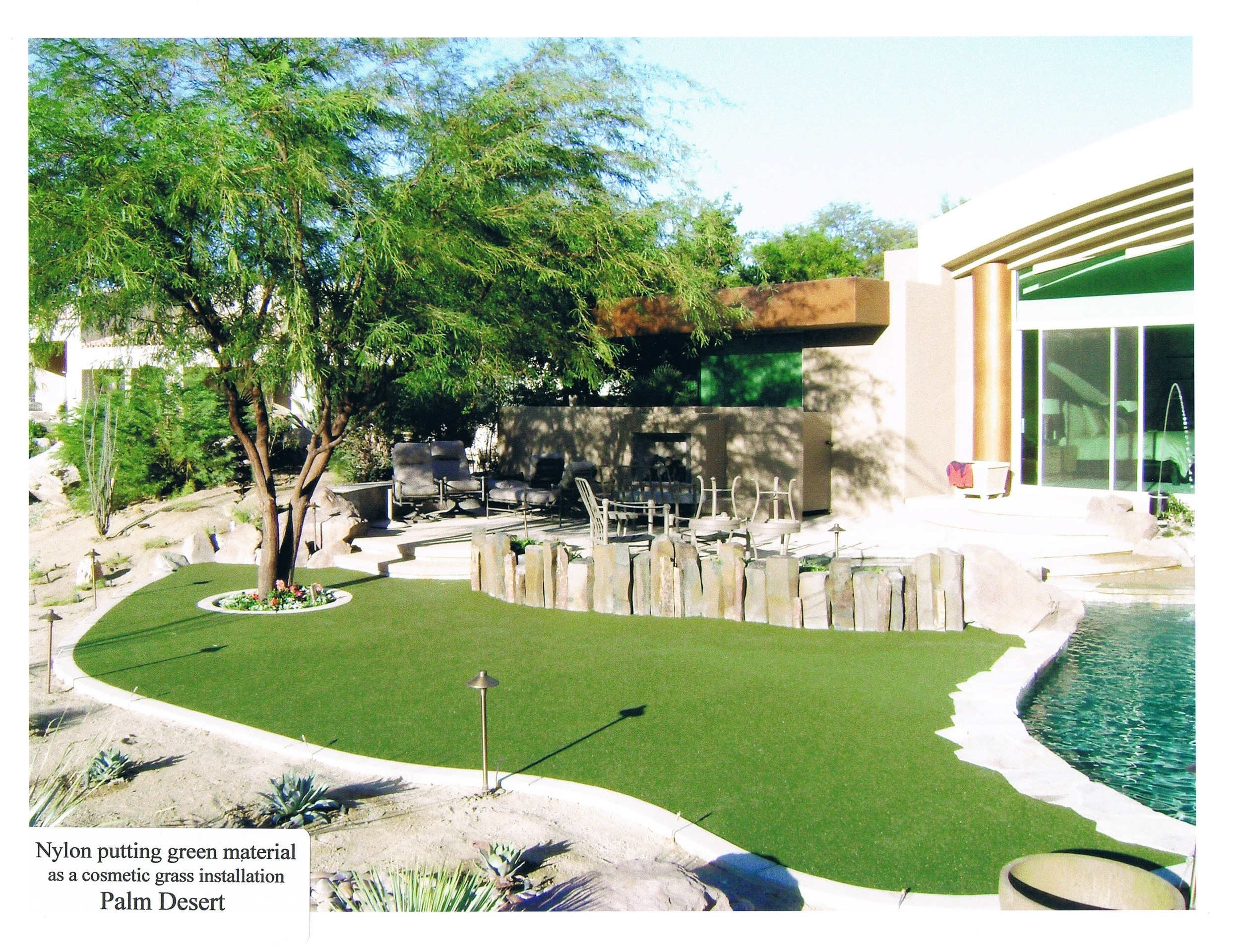 Copy of Synthetic grass landscape