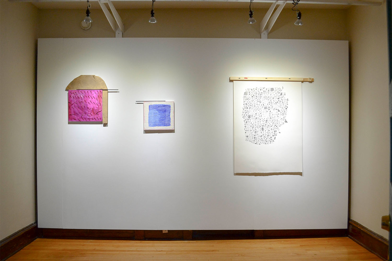kate sheldon  /  alexis stiteler  / installation view