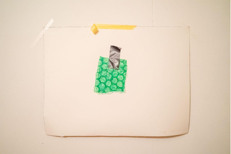 rachel longstreet  / duct tape and bubble wrap