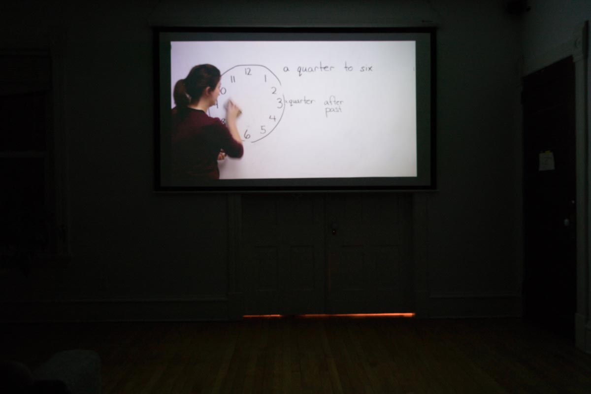 maya krinsky  / installation view