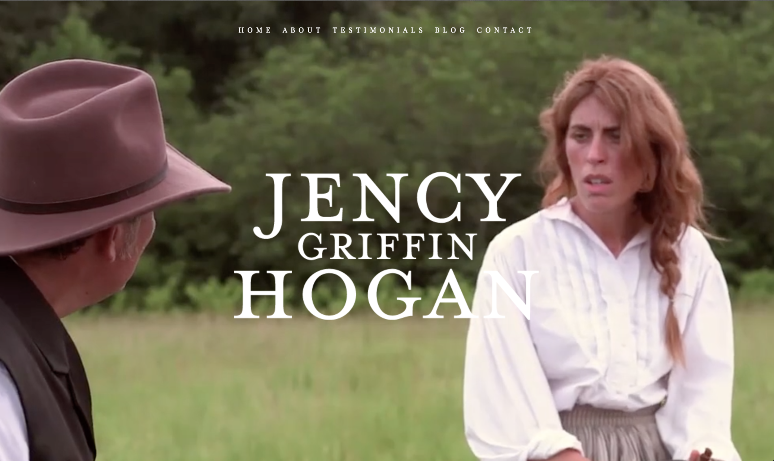 Jency Griffin Hogan Website