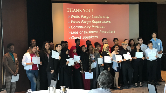 Summer 2019 Wells Fargo C3 Fellow Interns