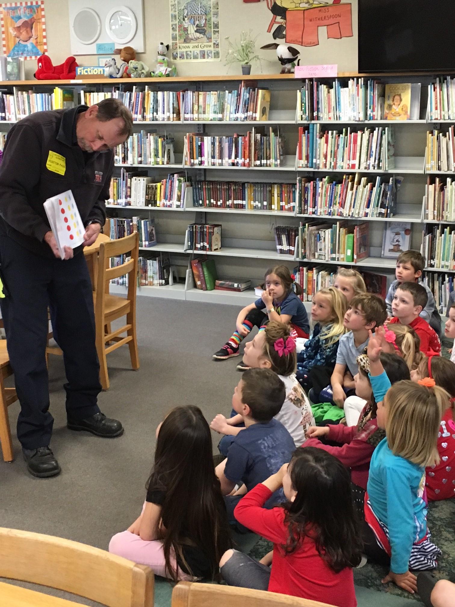 Read across America - Grover beach elementary