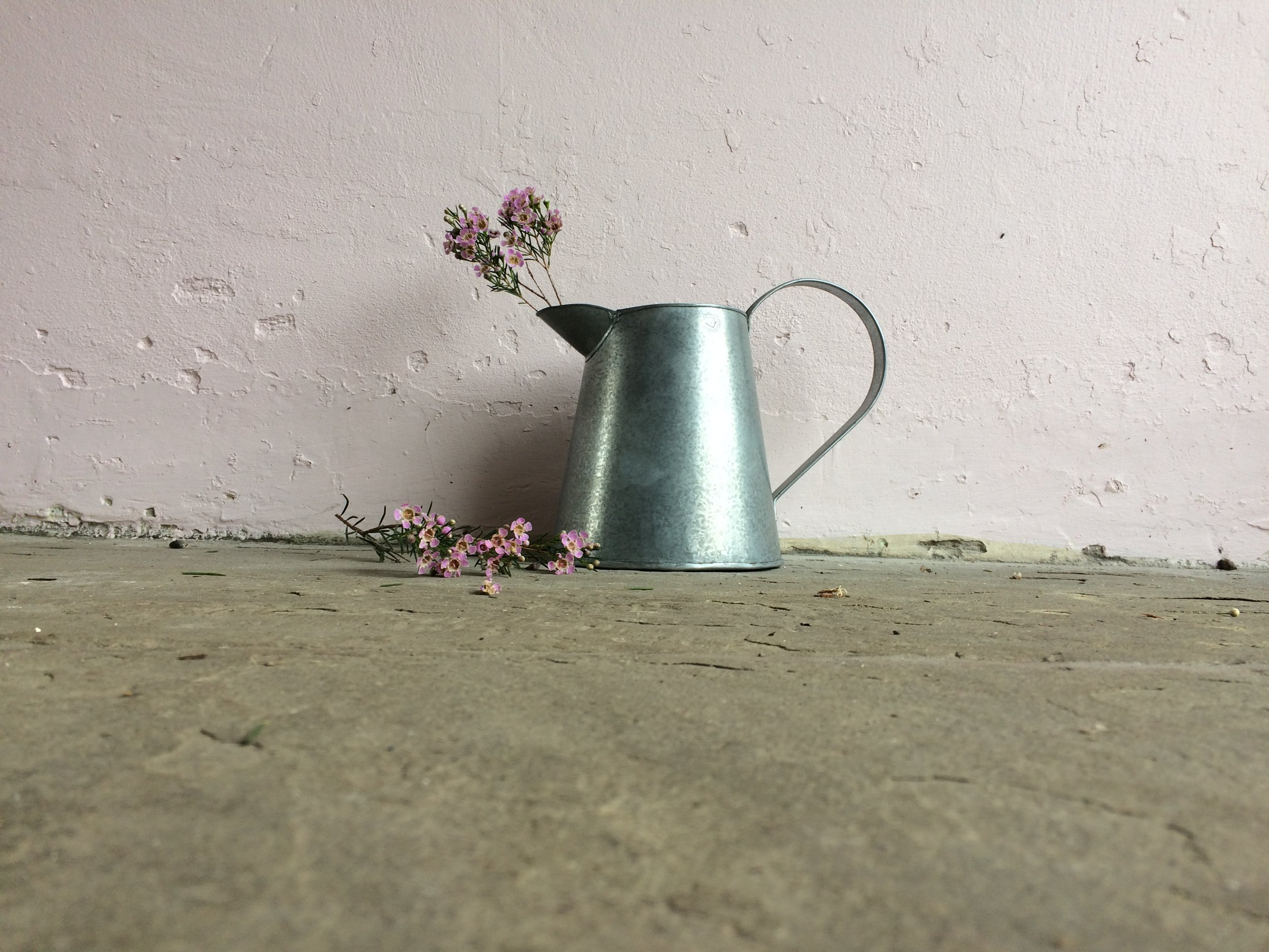A simple metal jug with a really old school feel, one of our utter favourites. £12.95  click to buy