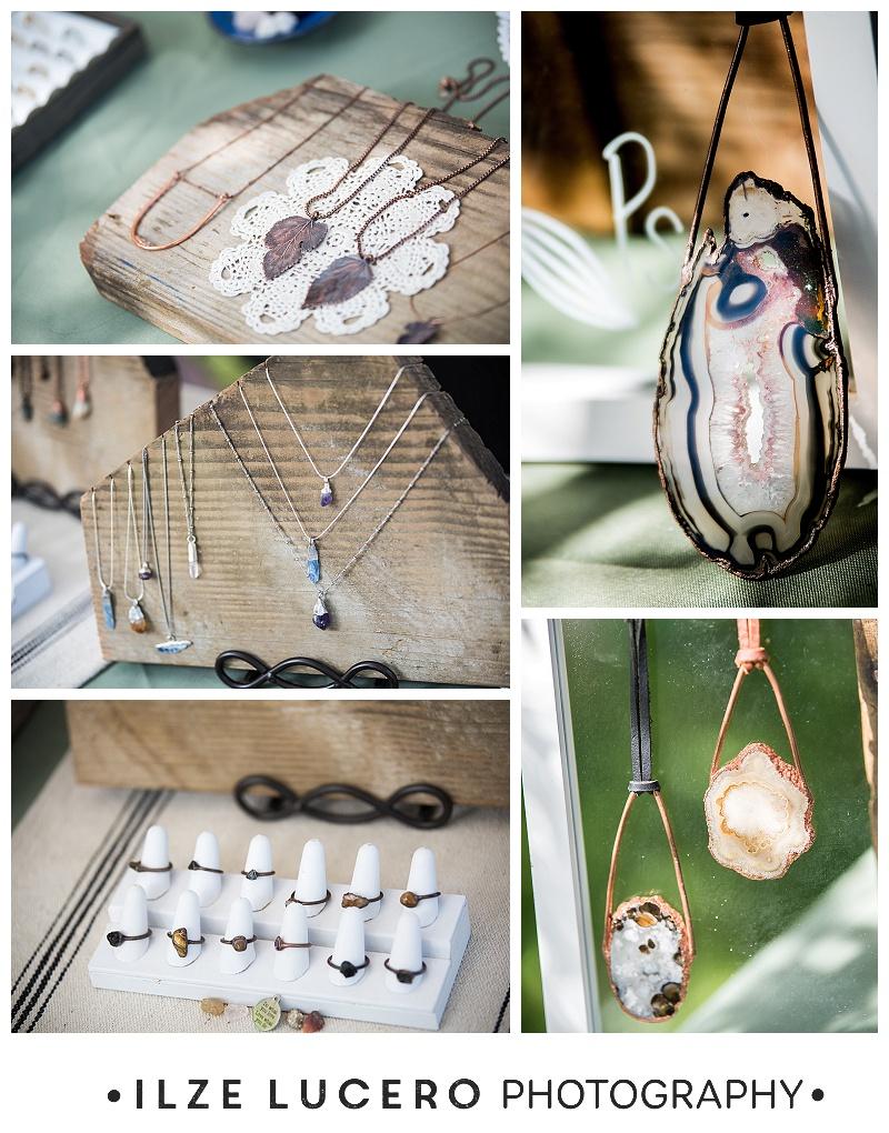 Pebble and Stone Jewelry