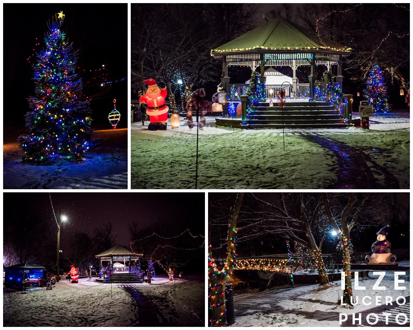Clarkston Christmas teree Depot Park