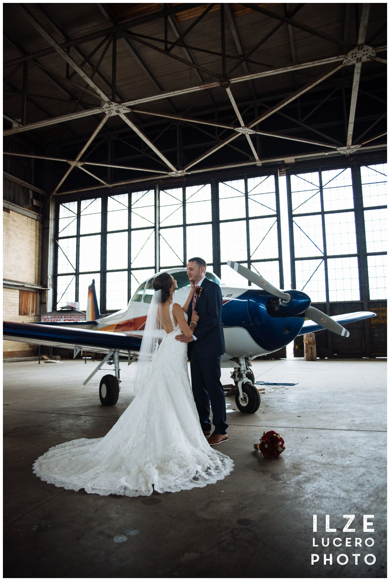 Airplane wedding theme inspiration